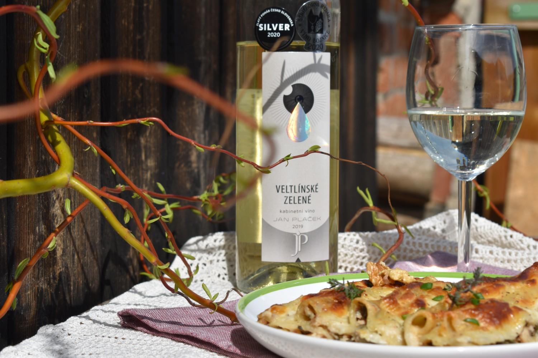 Recepty s vínem: zapečené cannelloni