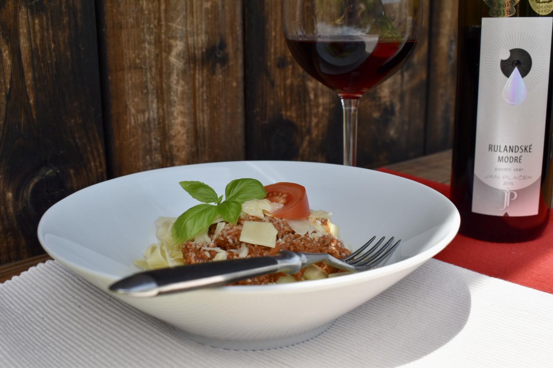 Recepty s vínem: Boloňské ragú